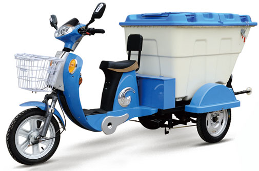 电动保洁车温馨提示您可靠骑车
