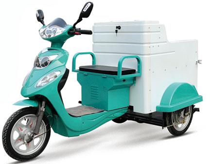 电动三轮车塑件厂介绍电动三轮车电池的选择